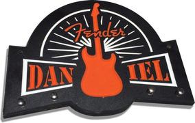 Placa Porta Chaves - Mod. Fender