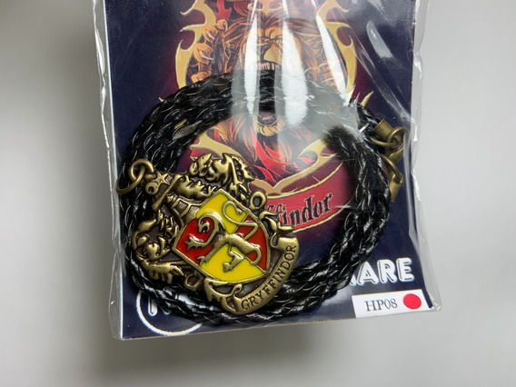 Colar Grifinória - Brasão - Harry Potter