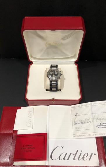 Cartier Siglo 21 Chronoscaph