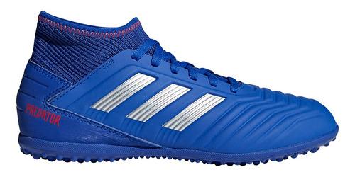 Championes adidas Futbol Predator 19.3 Tf J - Azul