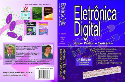 Imagem 1 de 2 de Eletrônica Digital: Curso Prático E Exercícios Capa Mole