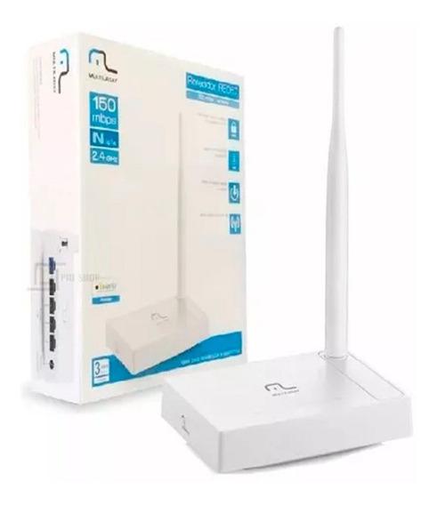 Roteador Wireless 150 Mbps 1 Antena Branco Multilaser