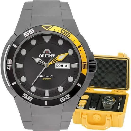 Relógio Orient 500m Automático Titanium Zerado Na Caixa
