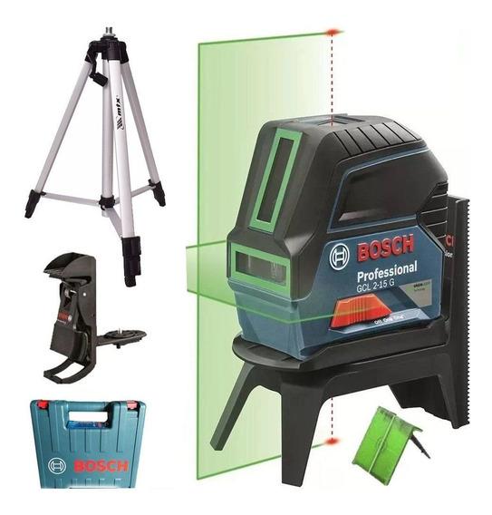 Nível Professional A Laser Verde Bosch Gcl 2-15 G