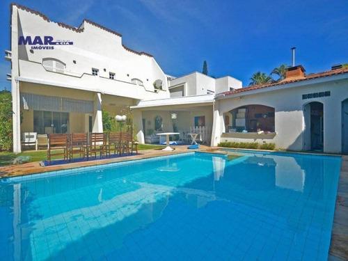 Casa À Venda, 400 M² Por R$ 2.200.000,00 - Acapulco - Guarujá/sp - Ca0471