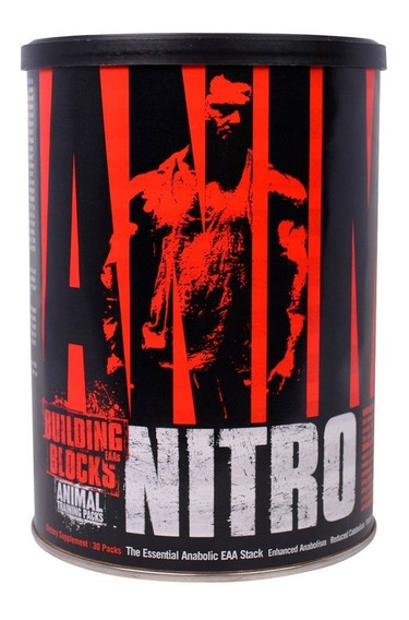 Aminoacidos Universal Animal Nitro 30 Packs Vitamina B6