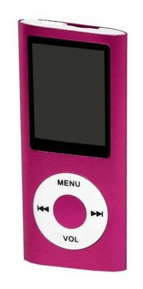 Mp3 Mp4 Player Slim 4007 Stereo Rádiofm + Fone Multimídia