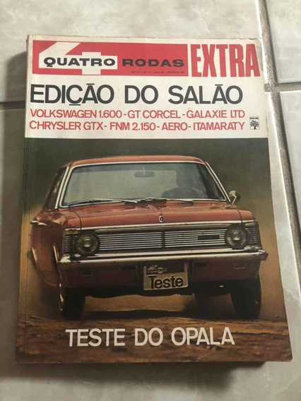 Quatro Rodas 101 Opala Chrysler Gtx Ltd Corcel Frete Grátis!