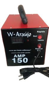 Fonte Automotiva Carregador De Bateria 150 Amp C/ Voltimetro