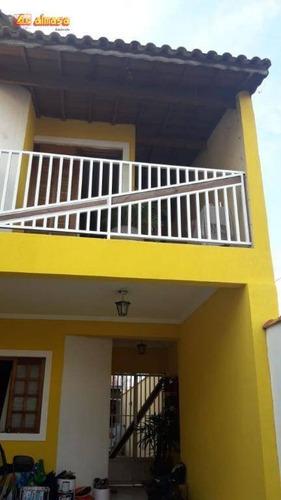 Sobrado Residencial À Venda, Vila Silveira, Guarulhos. - So0107