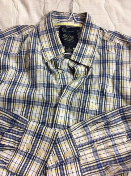 Camisa De Caballeros Moose Talla L/ G