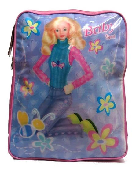 Mochila Colegial Baby Simil Barbie Espalda 1112 - Children