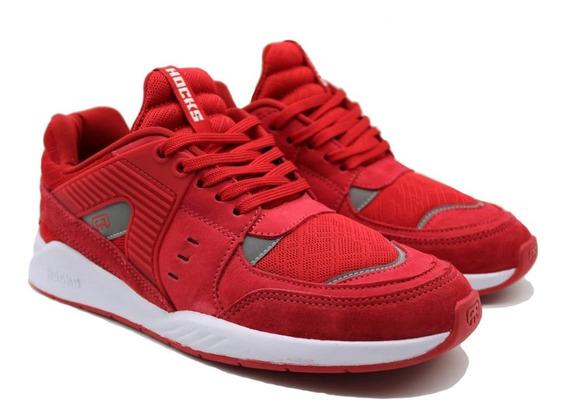 Tenis Hocks Pulsus Sneaker Red Vermelho Original
