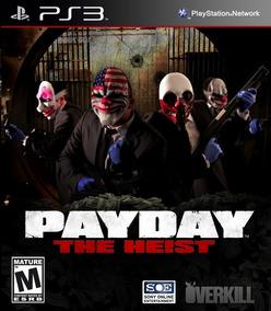 Payday The Heist , Playstation 3, Codigo Psn , Barato...