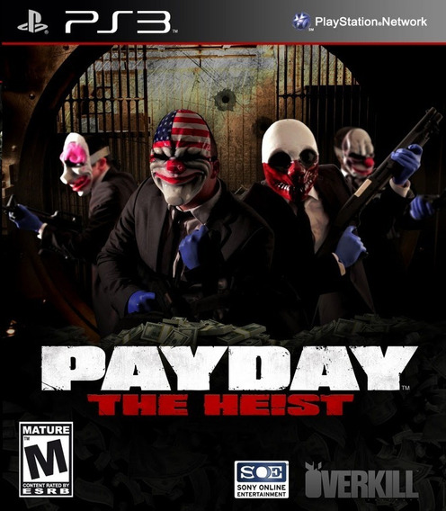 Payday The Heist , Playstation 3, Codigo Psn , Barato...