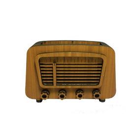 Radio Decorativo Amarelo