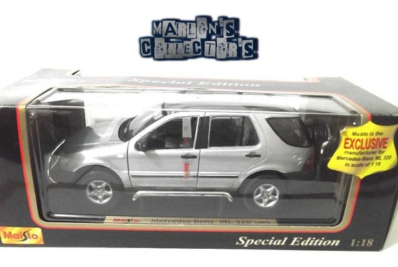 Mercedes Benz Ml 320 (1997) Maisto (exclusive) Escala 1/18