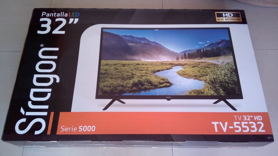 Tv Led 32 Hd Marca Siragon