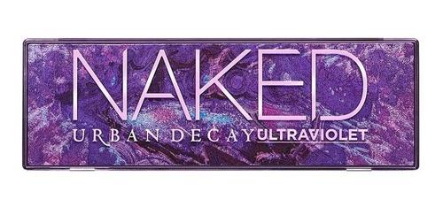 Paleta De Sombras Urban Decay Naked Ultraviolet 15g