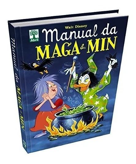 Livro Hq Disney Manual Da Magia E Min Capa Dura Lacrado