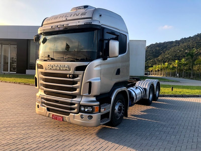 Scania R 440 6x4 2013 Highline