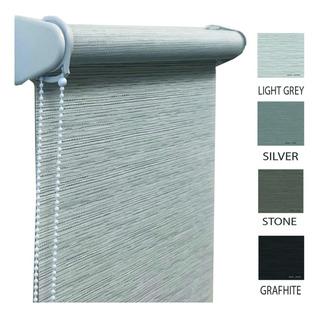 Cortinas Roller Sunscreen Rustico Bicolor 4% Mermet Original