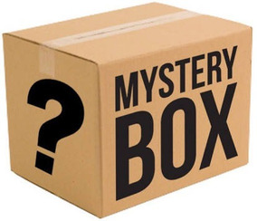 Mystery Box Surpresa Caixa Misteriosa Geek Gamer Black Post