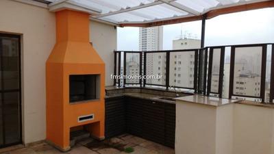 Cobertura Duplex Para À Venda Com 3 Quartos 1 Sala 180 M2 No Bairro Vila Gumercindo, São Paulo - Sp - Ap188lp