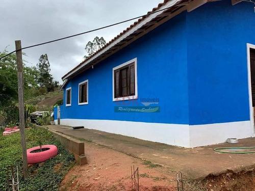 Imagem 1 de 11 de Chácara Com 2 Dormitórios À Venda, 1000 M² Por R$ 220.000,00 - São Luis - São Luís Do Paraitinga/sp - Ch0605