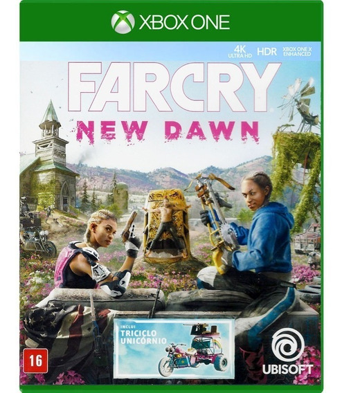 Farcry New Dawn - Xbox One ( Novo, Lacrado, Mídia Física)