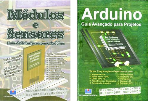 Imagem 1 de 7 de Livros Arduino & Módulos E Sensores 10% Desc.