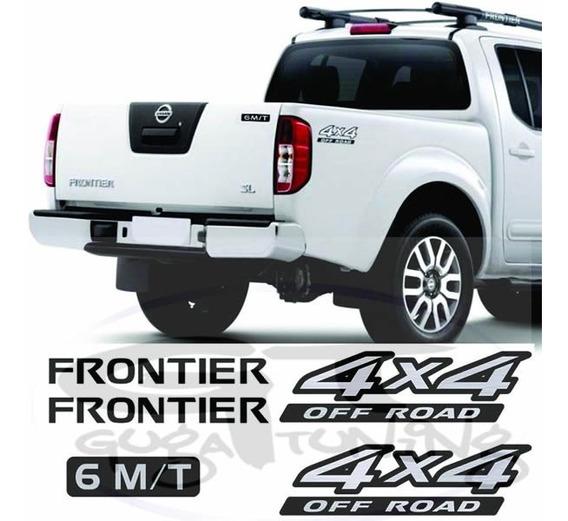 Adesivo Nissan Frontier Rack 2 Lados 4x4 2 Lados E 6 M/t