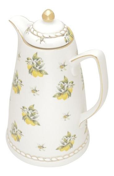 Garrafa Térmica Em Porcelana Wolff Lemon 900ml 28cm