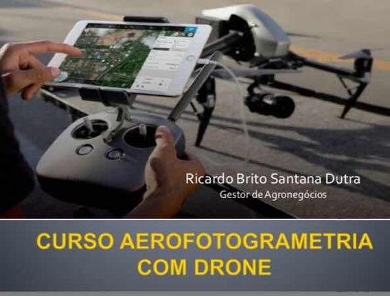 Curso De Aerofotogrametria Com Drones