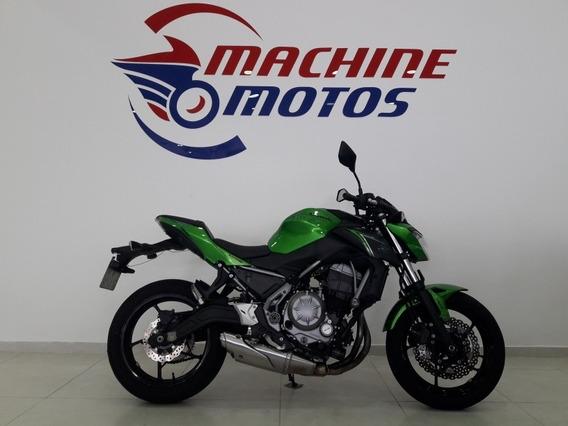 Kawasaki Z 650 Abs 2018 Verde Toda Original