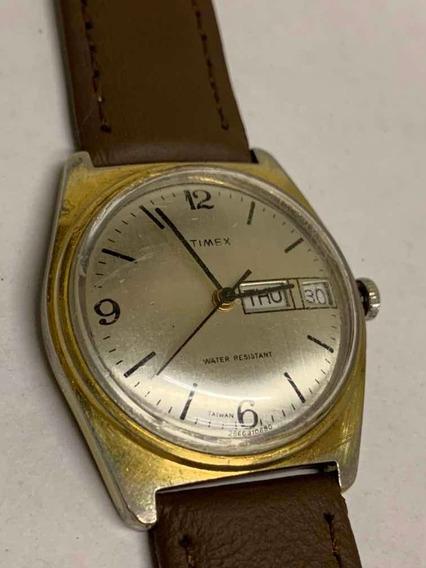 Reloj De Cuerda Manual Timex Vintage