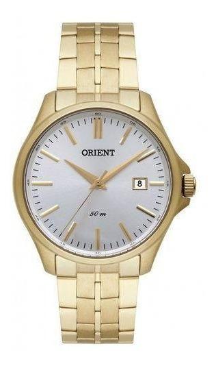 Relógio Orient Masculino Ref: Mgss1155 S1kx Dourado
