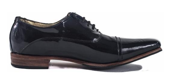 Zapatos De Charol. Del Talle 39-45.suela De Madera. Cons. St