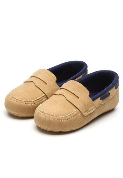 Sapato Infantil Menino Mocassim Pimpolho Caramelo