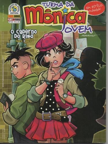 Revista Turma Da Mônica Jovem 24