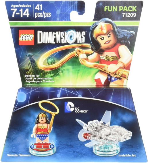 Lego Dimensions - Dc - Wonder Woman Fun Pack