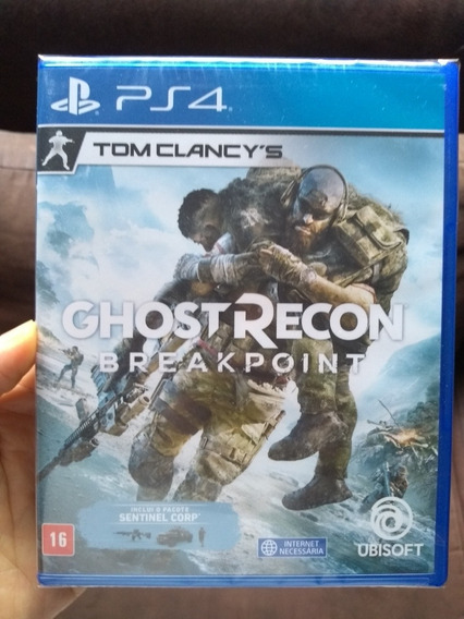 Ghost Recon Breakpoint Ps4 Mídia Física Lacrado Em Português
