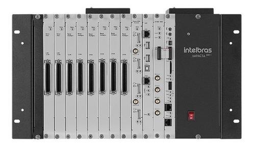 Central Digital Pabx Híbrida Impacta 300 Rack Intelbras 0/24