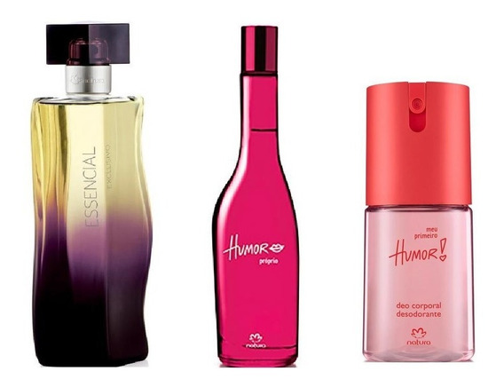 Perfumes Mulheres Natura Essencial Exclusivo + Humor Próprio