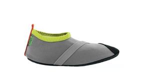 Zapatos Deportivos Acuaticos Para Niños. Grises. Talla Chica