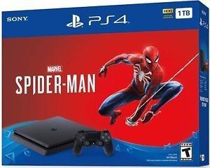 Playstation 4 Slim 1 Tb + Juego De Spider-man, Nuevo, Sellad