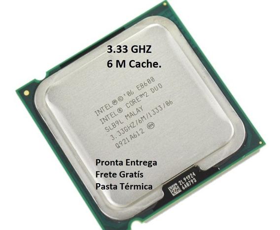 Processador Core 2 Duo E8600 3,33 Ghz 1333 6m 775 Semi Novo
