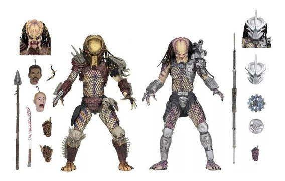 Predator Ultimate Bad Blood & Enforcer - Neca