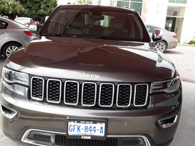 Jeep Grand Cherokee 3.7 Limited Lujo 3.6 4x2 At 2017 Gris