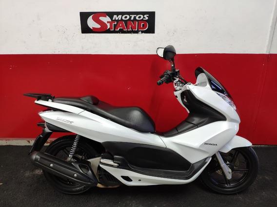 Honda Pcx 150 2014 Branca Branco